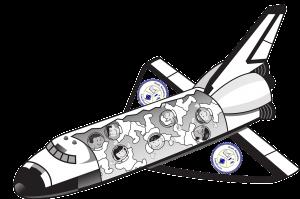 Lumcloon Space Shuttle